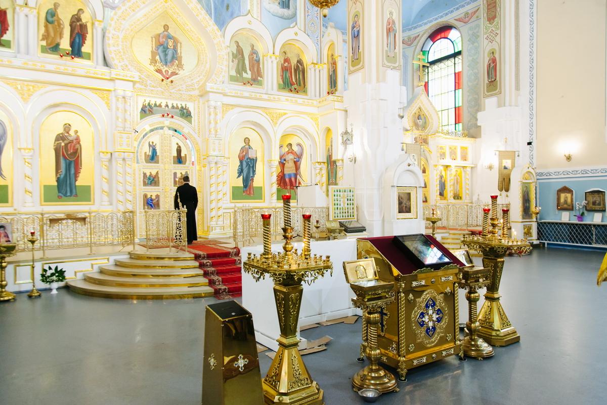Покровский собор гатчина