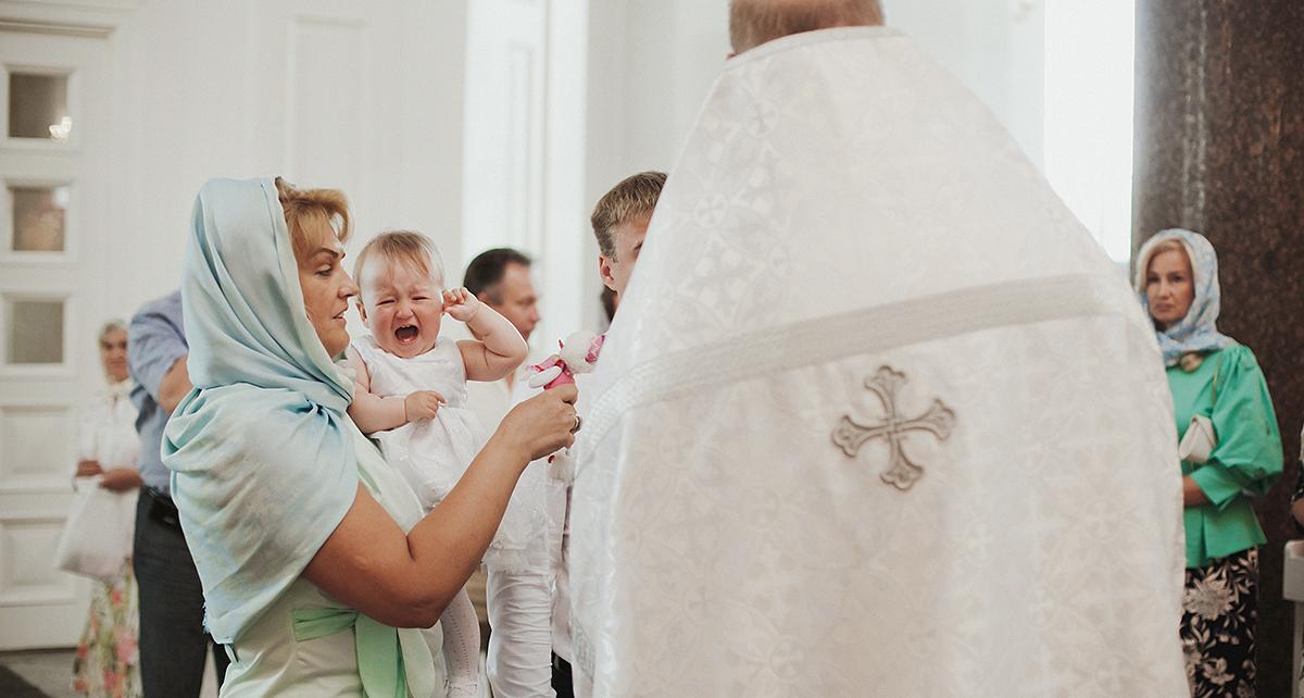 Крещение Ульяны. Софийский собор, Пушкин.