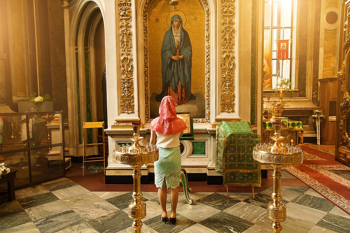 Крещение Киры Исаакиевский собор