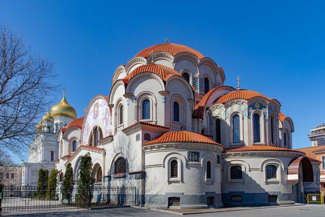 крещение в Воскресенского Новодевичьего монастыря
