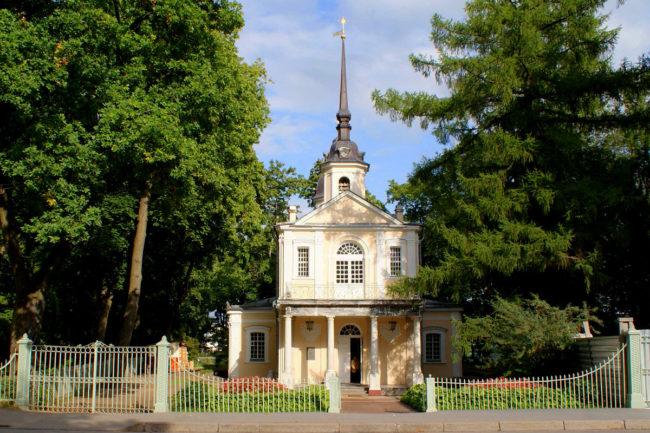 Знаменская церковь, г.Пушкин.