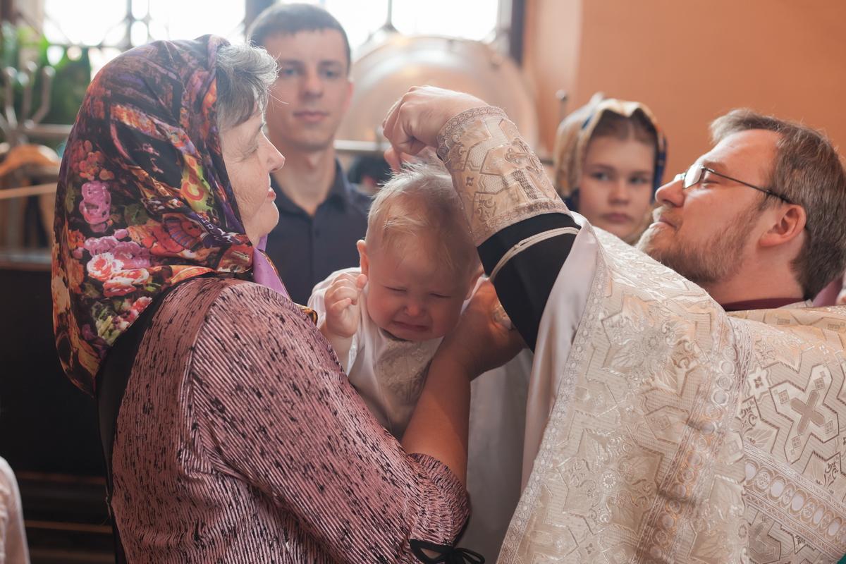 Крещение в Чесменской Церкви