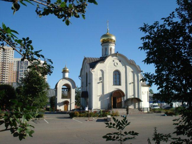 Церковь Николая Чудотворца на Коломяжском