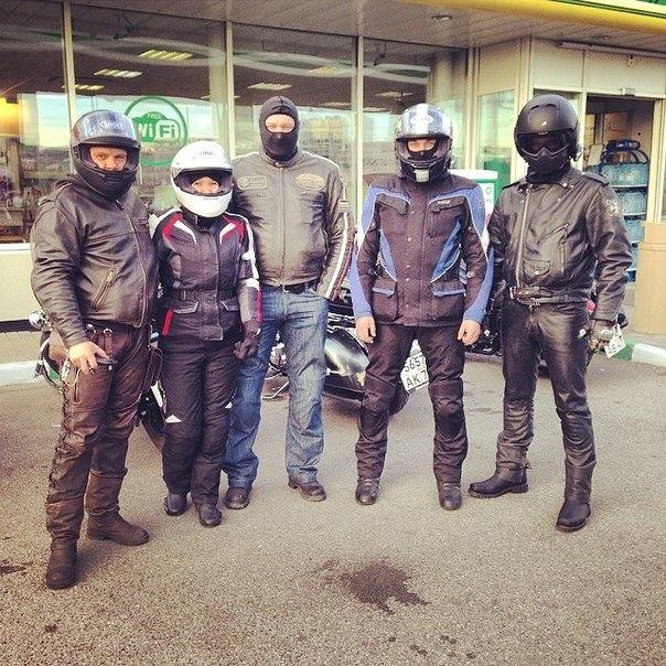 на мотоцикле в австрию