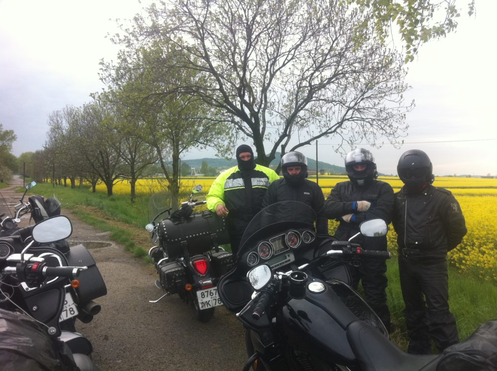 в австрию на мотоцикле