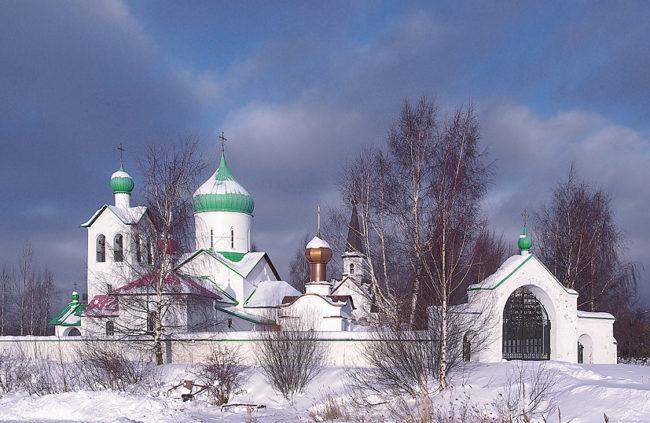 Церковь Сергия Радонежского на Средней Рогатке.