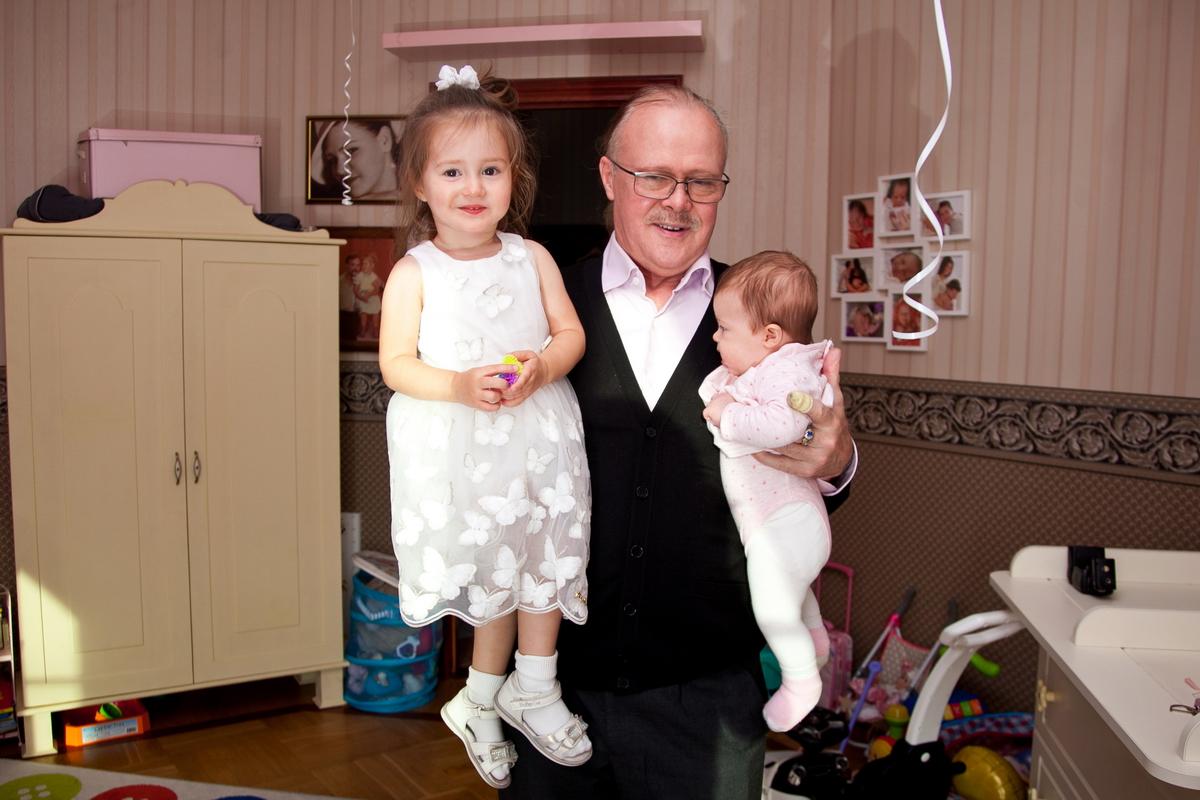 Домашняя фотосессия, фотограф Денис Шмигирилов, фотограф на день рождение малыша