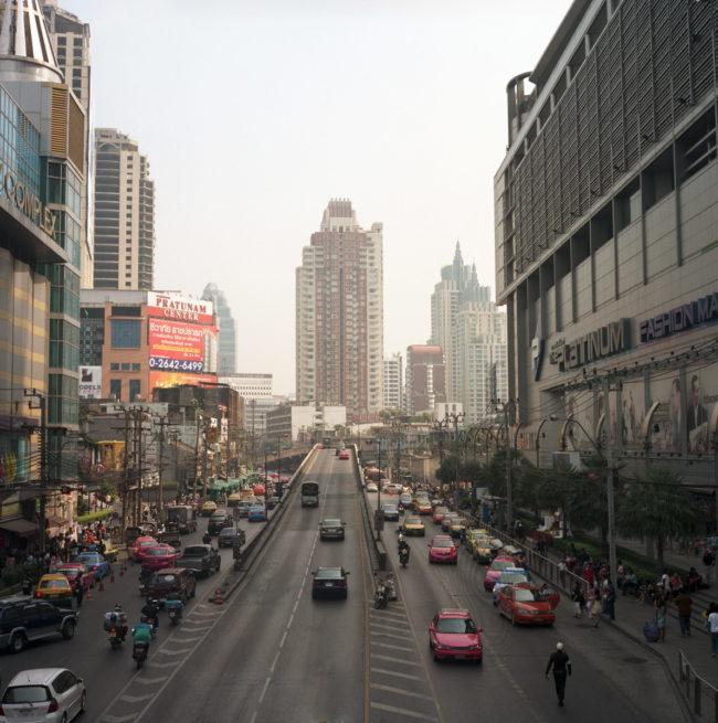 Rolleiflex 2.8c по Таиланду с пленкой