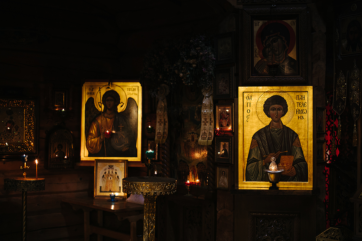 сосново, крещение в храме всех русских святых