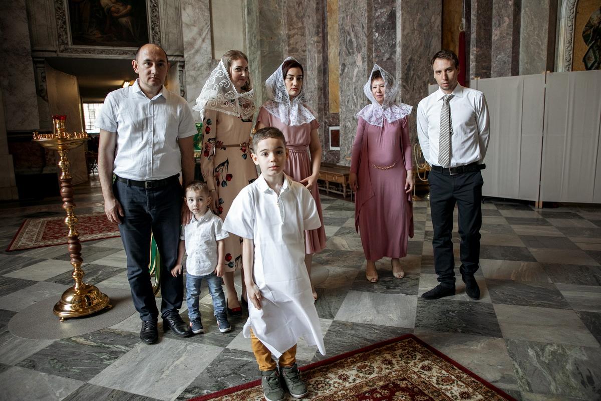 Крестины в Исаакиевском соборе, Санкт-Петербург