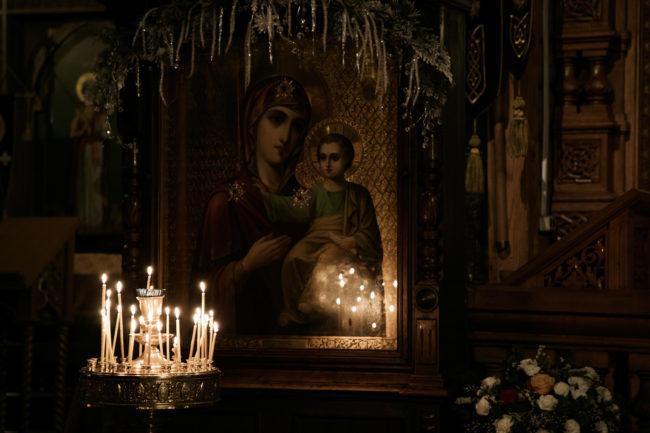 Крещение в Церкови иконы Божией Матери Казанская, г.Вырица