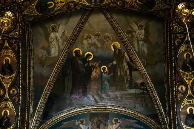 крестины успенский храм