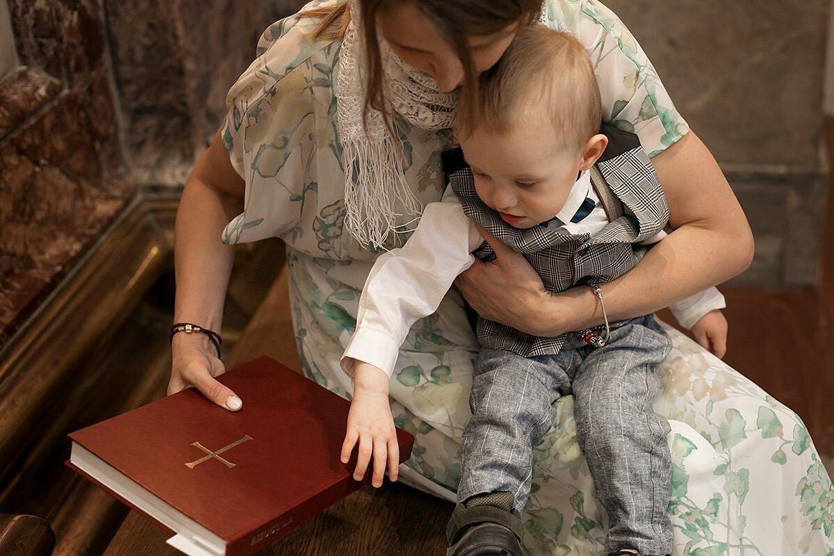 Исаакиевский собор крещение малыша